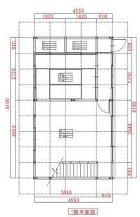 施工前1F平面図