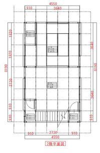 施工前2F平面図