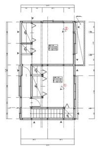 施工後2F平面図