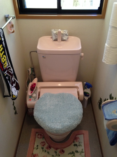トイレ (リフォーム前)